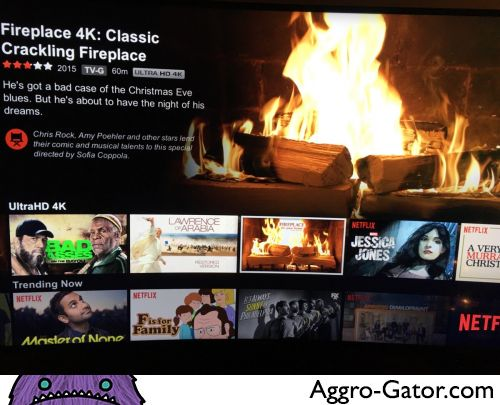 Aggro Gator: View and comment on images submitted by users